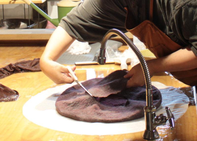羊毛フェルト制作
